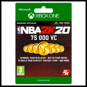 NBA 2K20 75.000 VC XONE