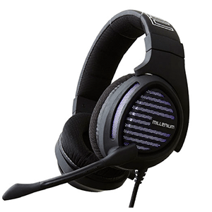 MILLENIUM MH2 Advanced Headset 7.1 LED Morado PC-PS4 - Auriculares Gaming