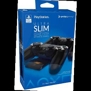 Cargador Dual Mandos PS4 Ultra Slim PDP -Licencia oficial-