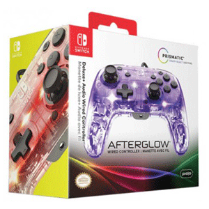Controller con Cable PDP Afterglow Deluxe+ -Licencia oficial-