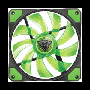 TRUST 762G LED Verde - Ventilador 120mm