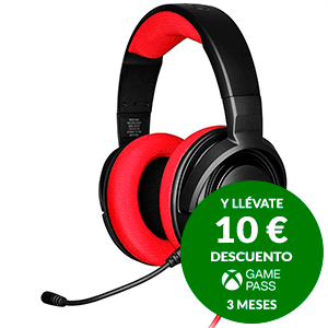 CORSAIR HS35 Red PC-PS4-PS5-XBOX-SWITCH-MOVIL - Auriculares Gaming