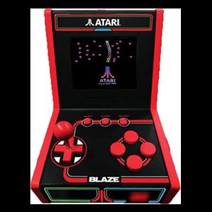 Consola Retro Atari 5 Games Mini Arcade