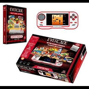 Consola Blaze Evercade Starter Pack + Cartucho Namco 1