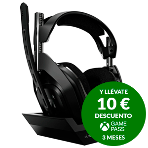 ASTRO A50 Wireless + Base Station  PS4/PC - Auriculares Gaming