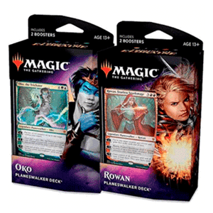 Mazo Planeswalker Magic the Gathering: El Trono de Eldraine