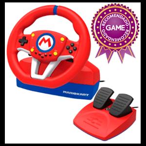 Volante Hori Mario Kart Pro -Licencia oficial-