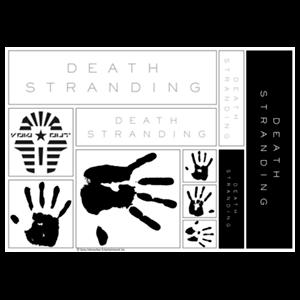 Sticker Death Stranding: Logo and Hands