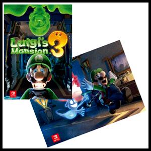 Luigi's Mansion 3 - Póster doble cara fluorescente