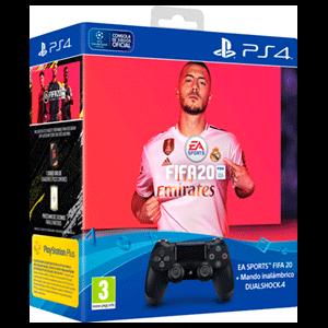 Controller Sony Dualshock 4 V2 + FIFA 20 + FUT