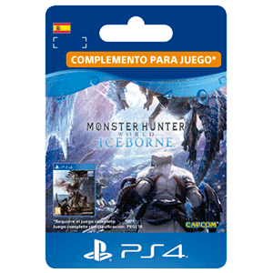 Monster Hunter World - Iceborne Expansión PS4
