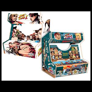 Mueble Arcade Mini: Street Fighter