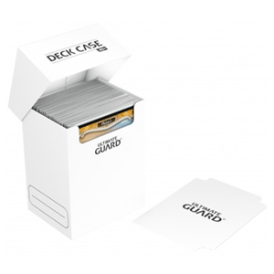 Ultimate Guard Deck Case 80+ Standard Size White