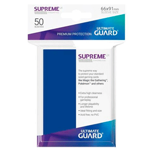 Funda Para Cartas Ultimated Guard Supreme UX Estándar Azul (50)