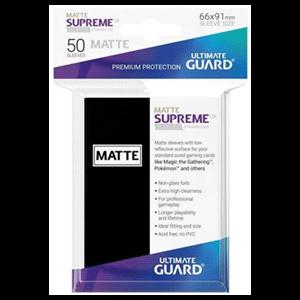 Funda Para Cartas Ultimated Guard Supreme UX Estándar Negro Mate (50)