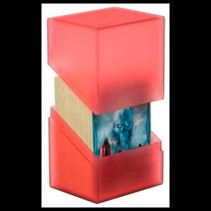 Caja Archivador Ultimated Guard Boulder&trade Deck Case 80+ Estándar Rubí