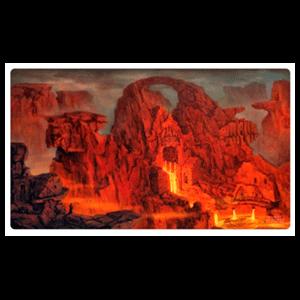 Tapete de Juego Ultimate Guard Lands Edition II Mountain 61 x 35 cm