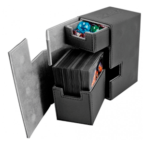Caja Archivador Ultimated Guard Flip´n´Tray Deck Case 80+ Estándar Negro