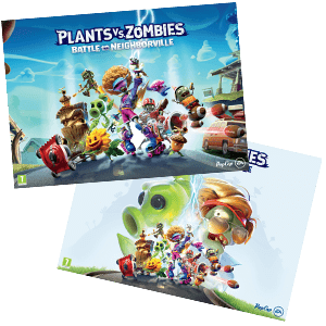 Plants vs Zombies Battle for Neighbourville - Póster