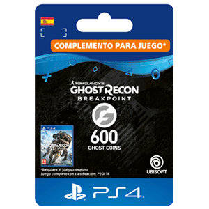 Ghost Recon Breakpoint - 600 Ghost Coins PS4