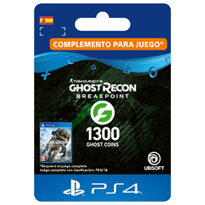 Ghost Recon Breakpoint - 1200 + 100 Ghost Coins PS4