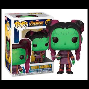 Figura Pop Marvel: Infinity War S2 - Gamora Joven con Daga