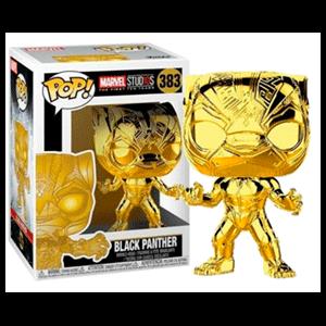 Figura Pop Marvel: Black Panther Chrome
