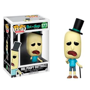 Figura Pop Rick y Morty: Mr. Poopy Butthole