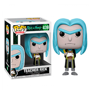 Figura Pop Rick y Morty: Teacher Rick