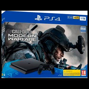 Playstation 4 1Tb + Call of Duty Modern Warfare