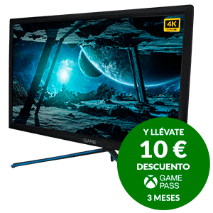 GAME M238E4K 24'' VA UHD 4K 60Hz con Altavoces - Monitor Gaming