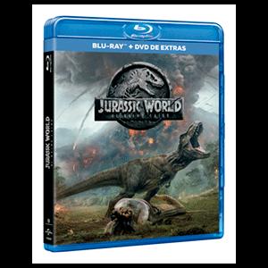 Jurassic World 2 El Reino Caído - BD + DVD Extras