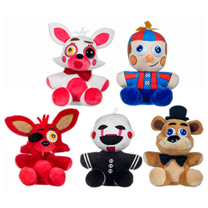 Peluche Five Nights at Freddy´s Sister 25cm Surtido