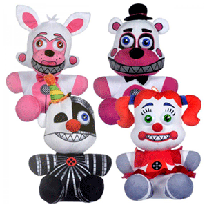 Peluche Five Nights at Freddy´s Sister 23cm Surtido