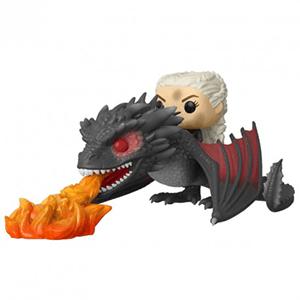 Figura Pop Juego de Tronos: Daenerys on Fiery Drogon