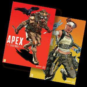 APEX Legends Lifeline/Bloodhound - Póster