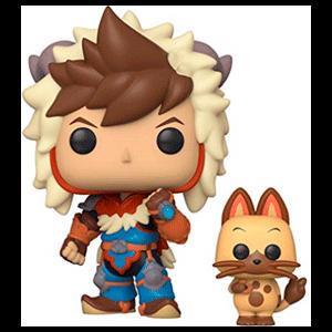 Figura Pop Monster Hunter: Lute con Navirou