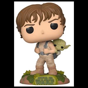 Figura Pop Deluxe Star Wars: Training Luke with Yoda