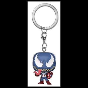 Llavero Pop Marvel Venom S3: Capitán América