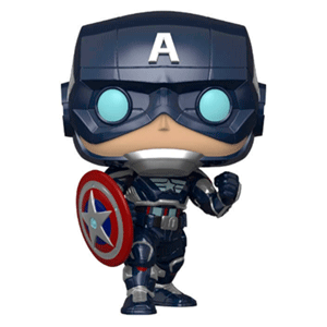 Figura Pop Avengers The Game: Capitán América