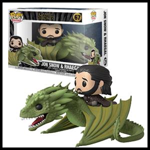 Figura Pop Juego de Tronos: Jon Snow en Rhaegal