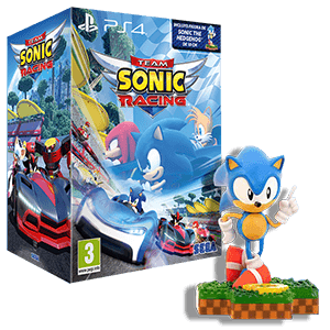Team Sonic Racing + Figura Sonic