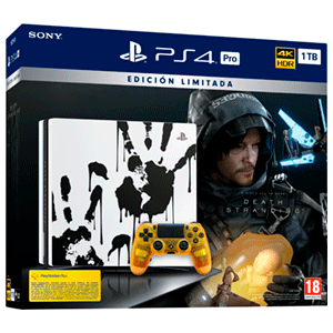 Playstation 4 Pro 1Tb Edicion Limitada + Death Stranding