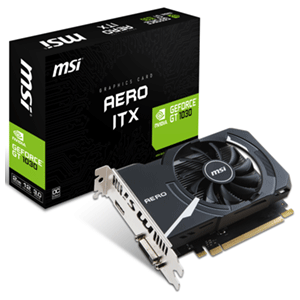 MSI GeForce GT 1030 Aero ITX 2GB OC GDDR5 - Reacondicionado