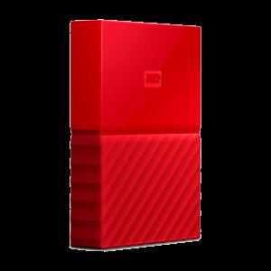 Western Digital My Passport 1TB Rojo - Disco duro externo USB 3.0 - Reacondicionado