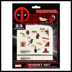 Set Imanes Comic Deadpool