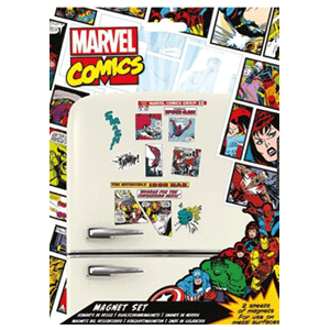 Set Imanes Comic Marvel