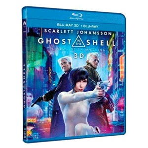 Ghost In The Shell: El Alma de la Máquina - 3D + 2D