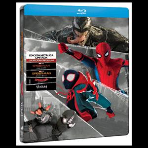 Spider-man Colección 4 Películas - Steelbook
