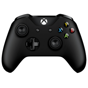 Controller Inalambrico Microsoft V.2 Negro